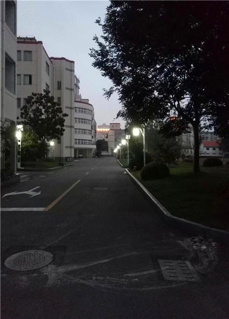 学校庭院灯景观灯安装