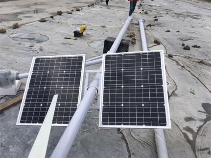 大功率太阳能板施工案例