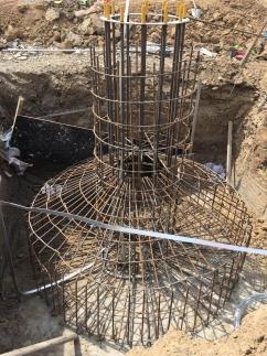 高杆灯基础施工案例
