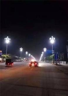 中华灯安装施工