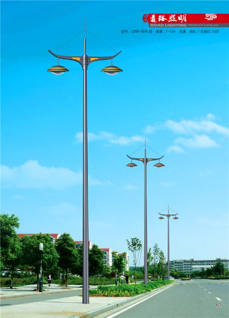 14米双臂路灯 LED路灯 厂家直销