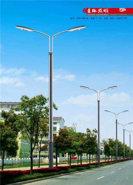9米双臂路灯