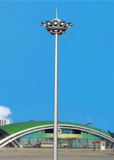 体育场双层升降系统高杆灯
