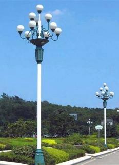 广场中华灯