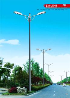 飞利祥照明LED-001 8米双臂路灯杆