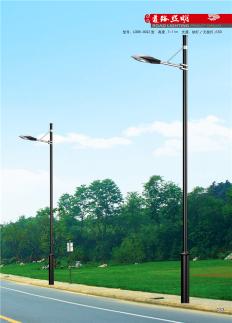 6米单臂市电路灯杆
