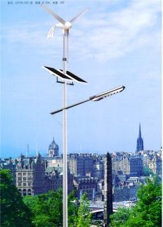 6米20W太阳能风光互补路灯厂家