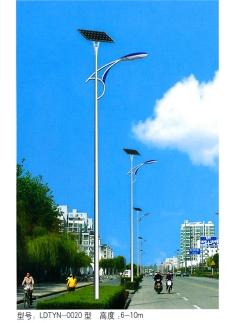 新农村6米20W太阳能路灯