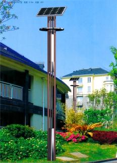 5米20W太阳能庭院灯景观灯