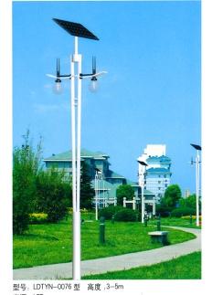 4米太阳能庭院灯厂家