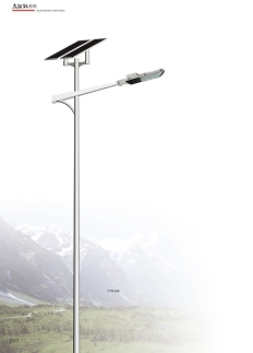 福建省6米30W太阳能路灯