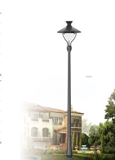 步行街景观灯